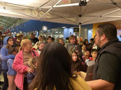 Santa's Arrival - The Outlet Shoppes at Laredo
